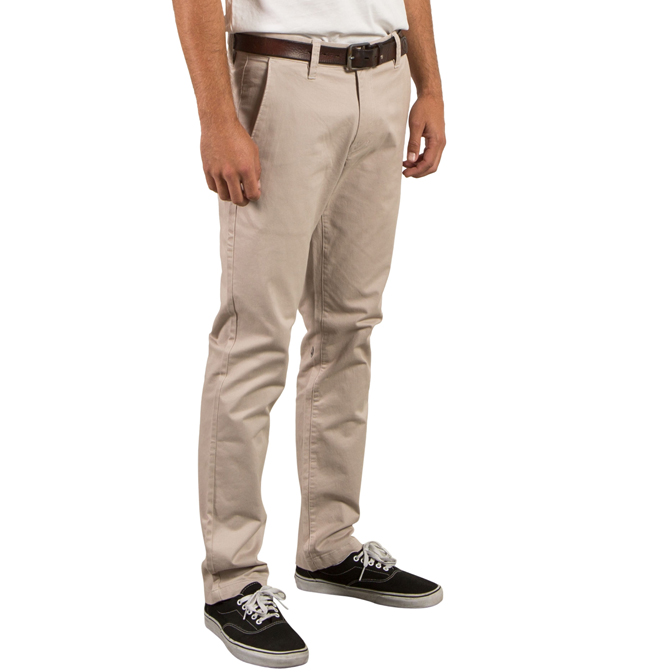 hot new products choose original online for sale Volcom Frickin Slim Chino Pants Light Khaki - Boardvillage