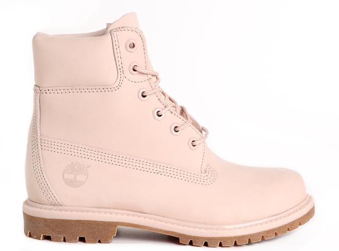 Timberland Womens 6 Inch Premium Boot Pink