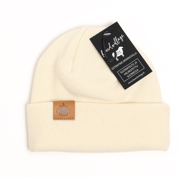 Boardvillage Merino Tervatynnyri Beanie Off White