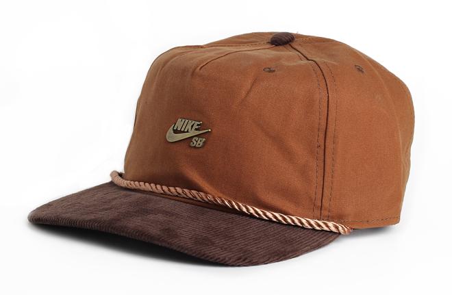 11381b1af Nike SB Waxed Canvas Pro Cap Ale Brown - Boardvillage