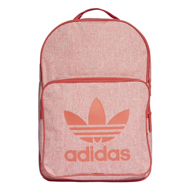 b6b46556fe0 Adidas Classic Casual Backpack Trace Scarlet - Boardvillage