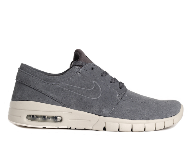Nike SB Janoski Max L Dark Grey - Light Bone - Boardvillage ee3c7c994