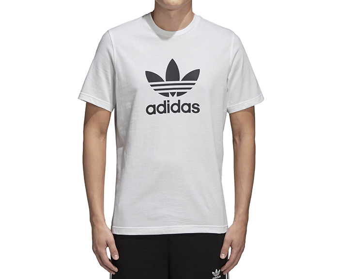 Adidas Originals Trefoil Tee White