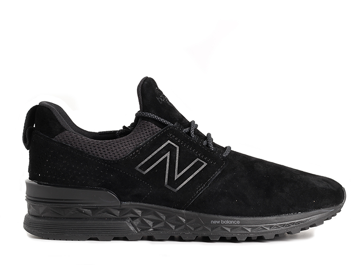 pretty nice 420d4 4430c New Balance 574 Sport Black - Boardvillage