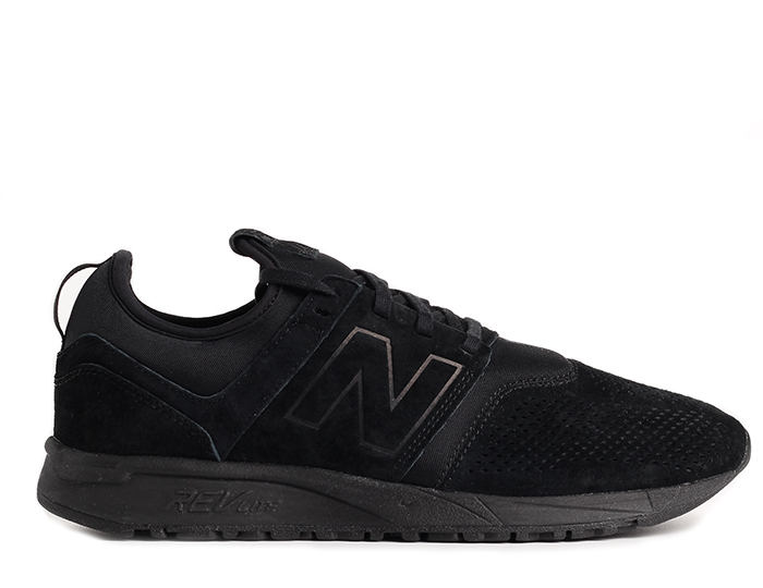 New Balance 247 Suede Black
