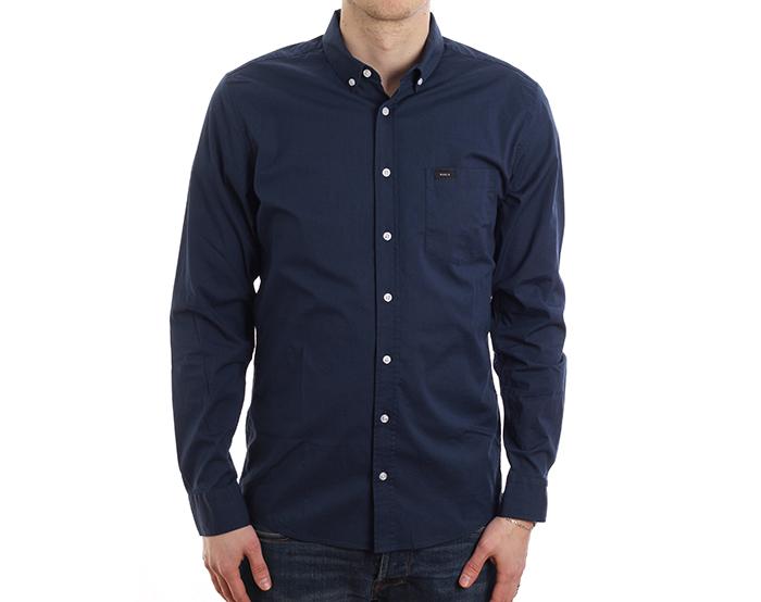 Makia Archipelago Shirt Royal Blue