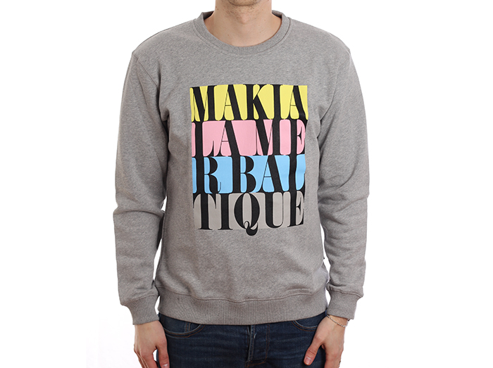 Makia Do Or Die Sweatshirt Grey