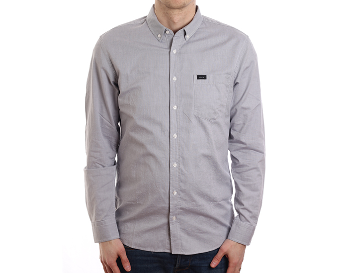 Makia Flagship Shirt Grey