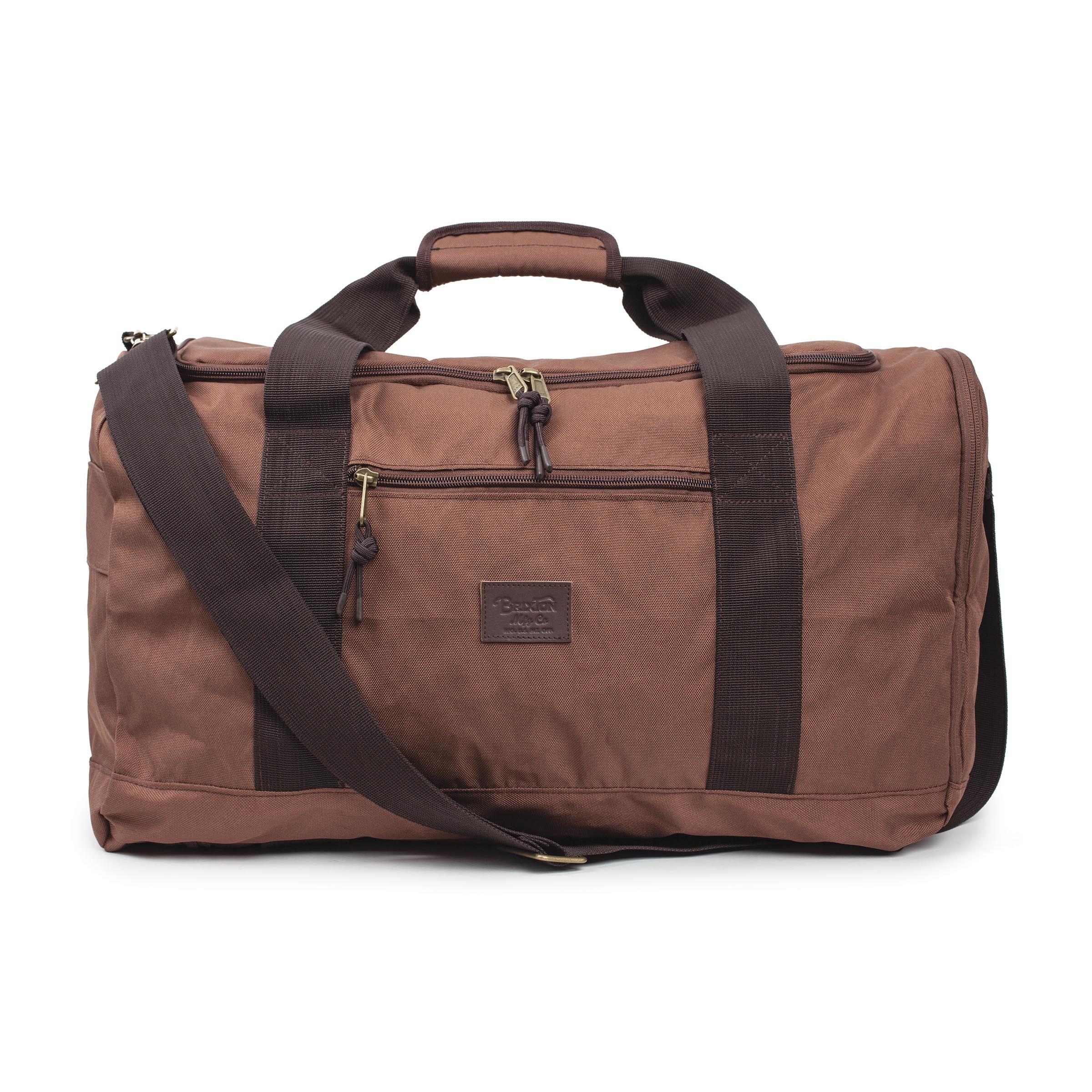Brixton Packer Bag Brown - Boardvillage b421ea83c1