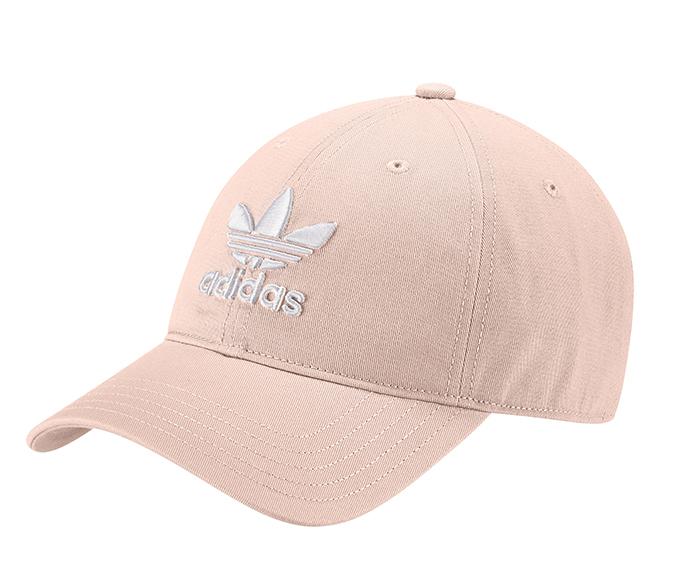 f43bccbd77a Adidas Trefoil Classic Cap Blush Pink   White - Boardvillage