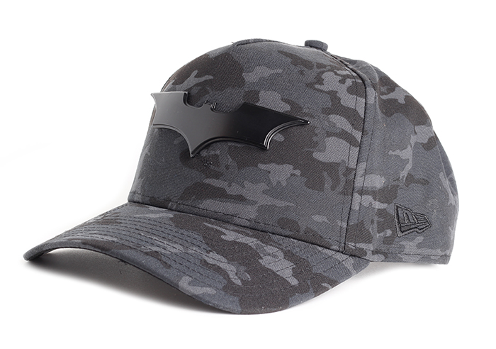 New Era Camo Metal Hero A-Frame Snapback Batman