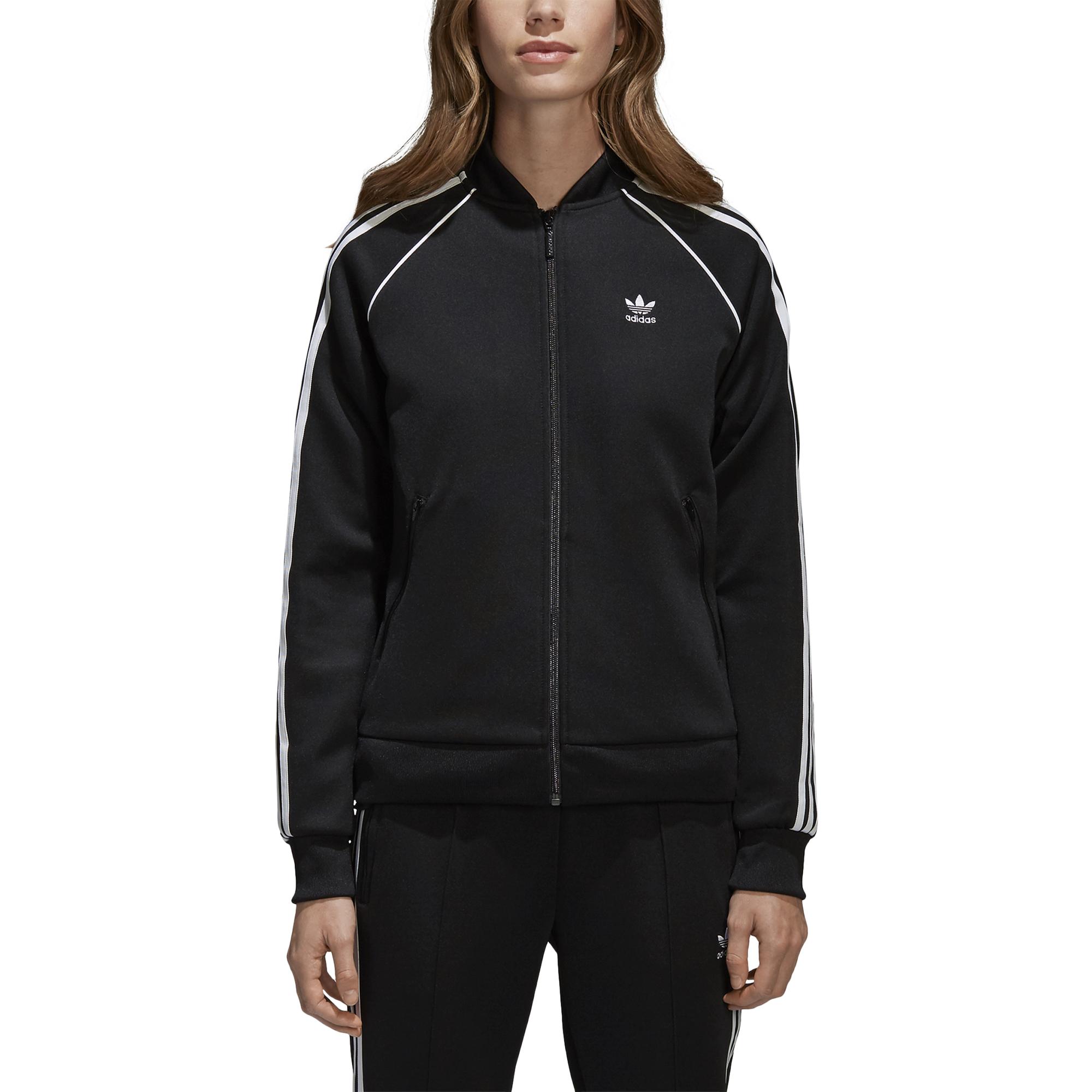 adidas Damen SST Originals Track Jacke, Tactile Rose, 46