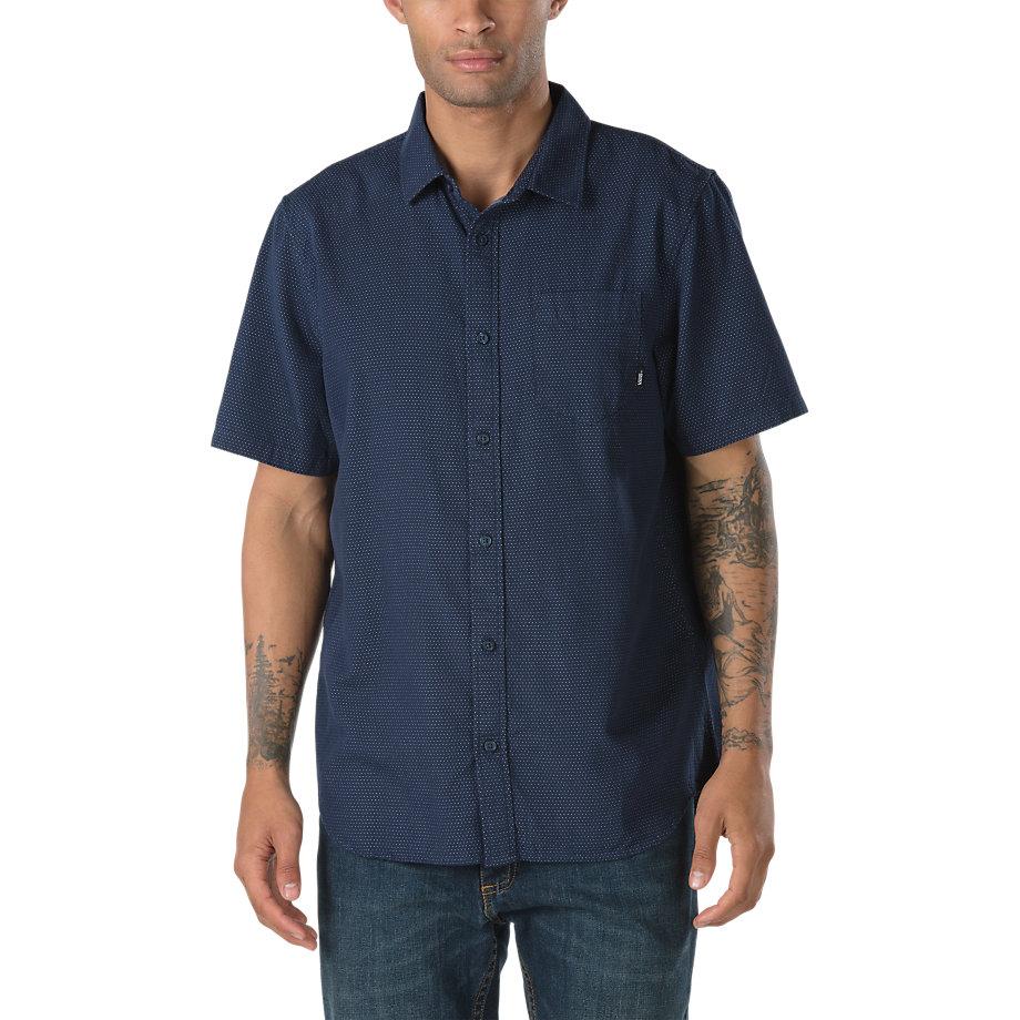 Vans Gidding Shirt Dress Blues