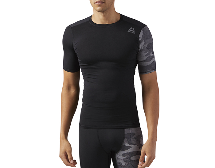 Reebok Activchill Graphic Compression Tee Black