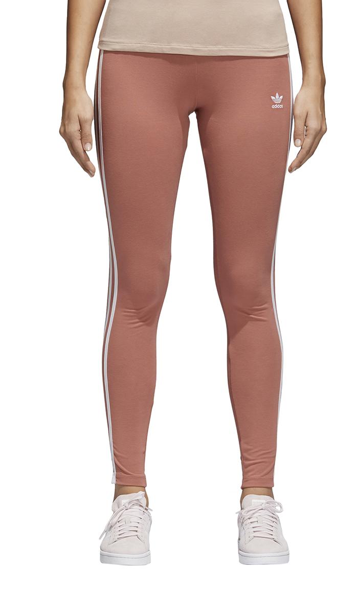 54b0b9c94adfbe Adidas Womens 3 Stripes Leggings Ash Pink - Boardvillage