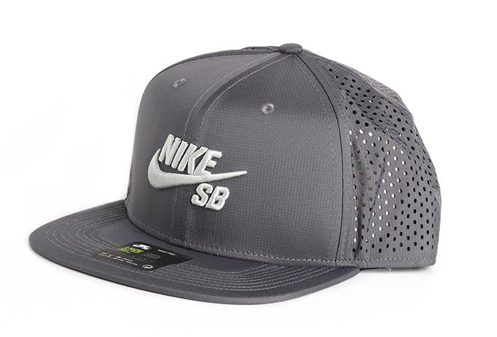 new style c589d 9b681 Nike SB Aero Cap Pro Trucker Dark Grey   Black   Light Bone