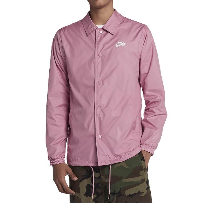 2f32851d68c4 Nike SB Shield Jacket Elemental Pink   White - Boardvillage