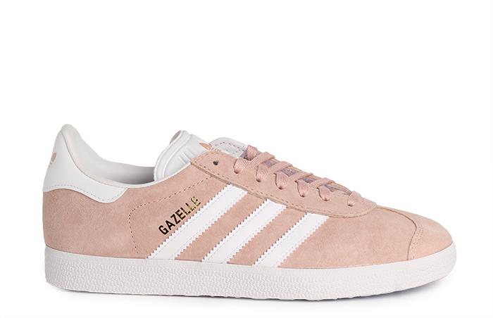 new arrival 221af 3da07 Adidas Gazelle Vapour Pink  White  Gold Metallic