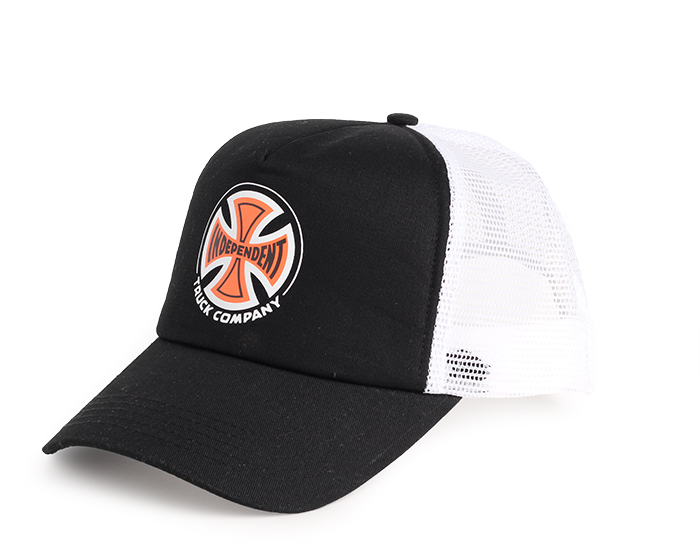 Independent Meshback Cap Black / White