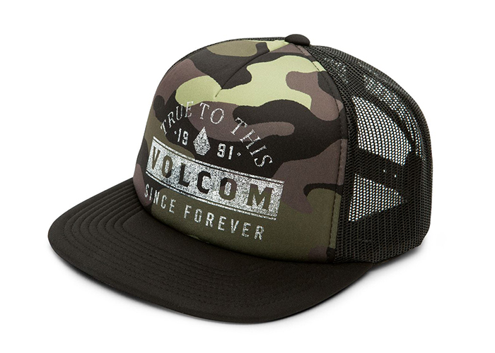 Volcom Don't Even Trip Hat Dark Camo