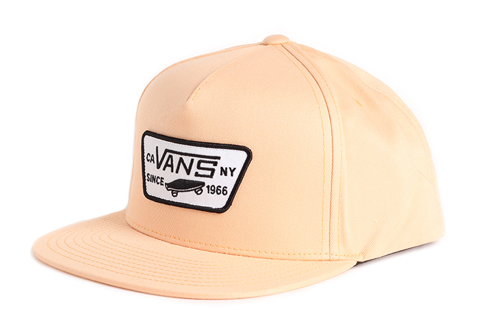 Vans Full Patch Snapback Apricot Ice