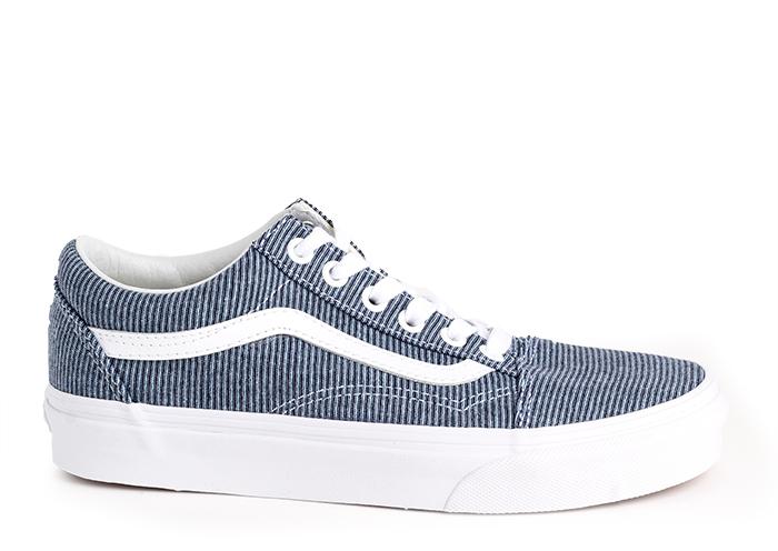 Vans Old Skool (Jersey) Blue / True White
