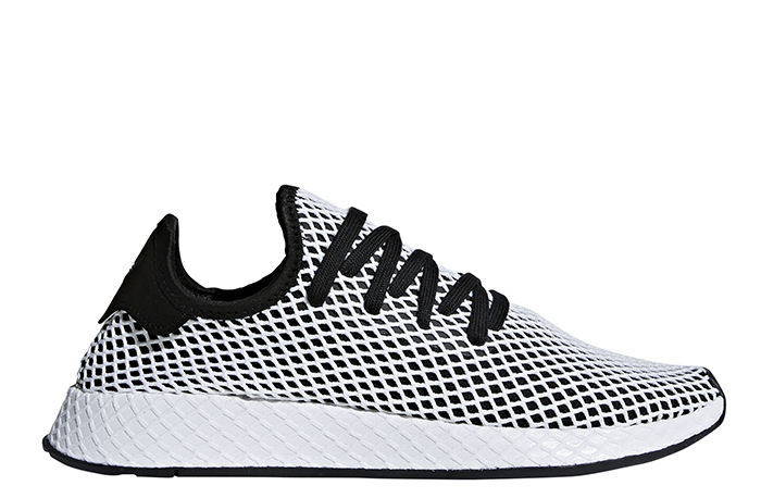 c8d104bd17d1 Adidas Deerupt Runner Core Black   Core Black   White - Boardvillage