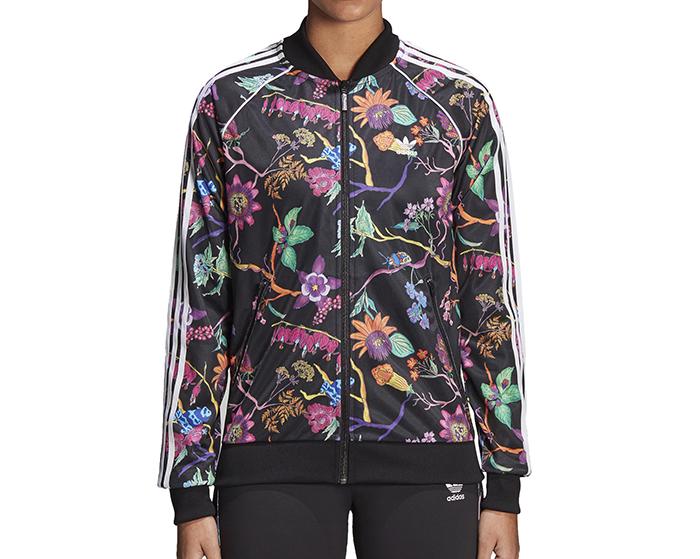 2824f8ff61a9 Adidas Womens Poisonous Garden SST Track Jacket - Boardvillage