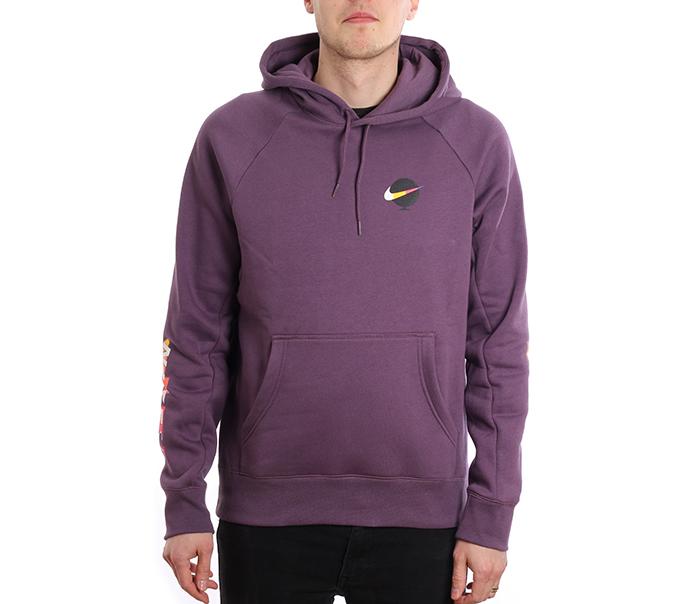 b4a98856fedc Nike SB Icon Hoodie GFX Pro Purple   White - Boardvillage