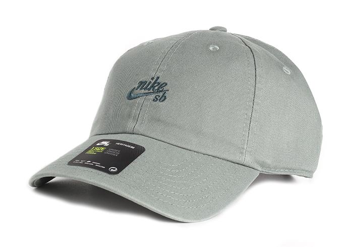 2799b51f1 Nike SB H86 Cap Vintage Clay Green / Deep Jungle - Boardvillage
