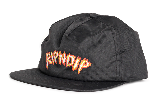 RIPNDIP Inferno Snapback Black