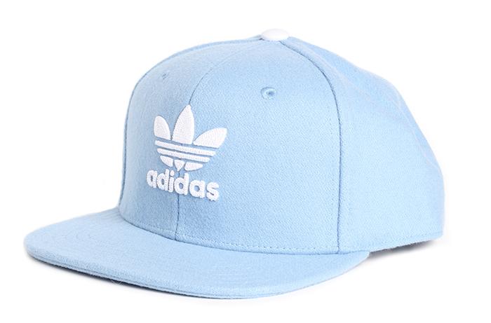7f873c798f0 Adidas Trefoil Heritage Snapback Ash Blue   White - Boardvillage