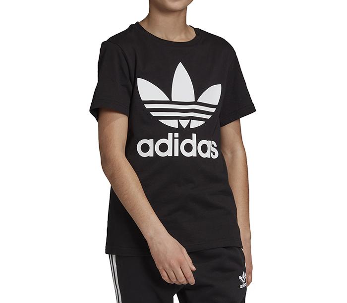 Adidas Youth Trefoil Tee Black / White