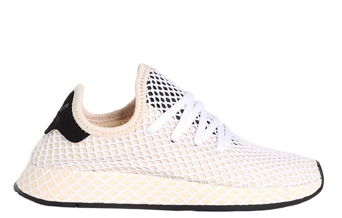promo code 0f046 dcceb Adidas Womens Deerupt Runner Linen  Linen  Ecru Tint