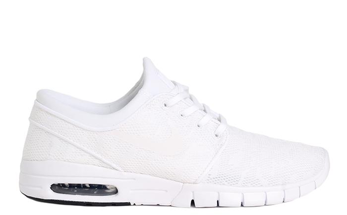 aaf37eedc5cf Nike SB Janoski Max White   White - Obsidian - Boardvillage