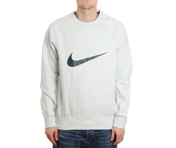 Nike SB Icon Crew GFX Barely Grey / Deep Jungle