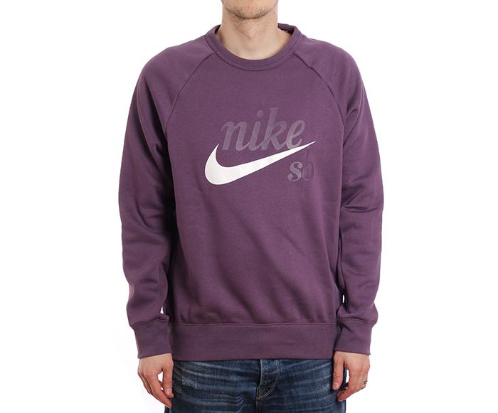 66e01c09bf23 Frontpage Men s Clothing Sweatshirts   Longsleeves. ◁. ▷. Nike SB Icon Crew  GFX Pro Purple   White