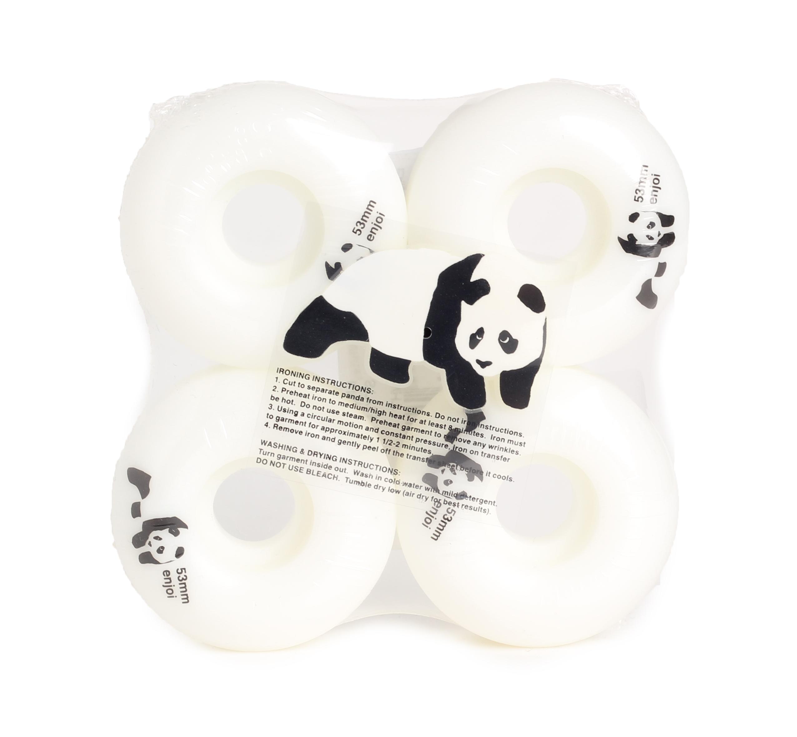 Enjoi Panda Wheel Whitey 53mm