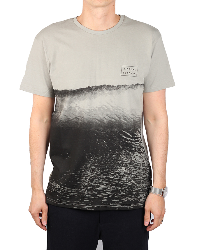 Rip Curl Glassy Day Tee Neutral Grey