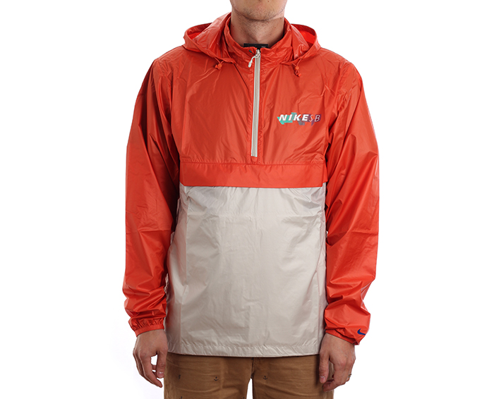 4782eb4dc Nike SB Anorak Jacket Vintage Coral / Light Bone / Hyper Royal -  Boardvillage