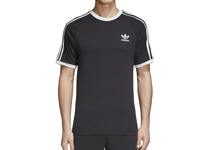 Adidas Originals 3-Stripes Tee Black