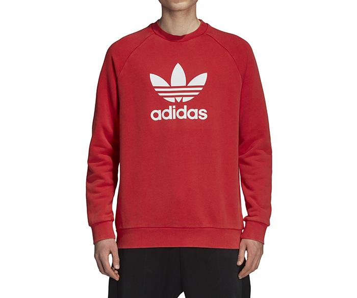 Adidas Originals Warm-Up Crew Collegiate Red