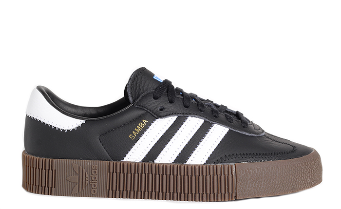 9f10540394e Adidas Womens Sambarose Core Black / Cloud White / Gum - Boardvillage