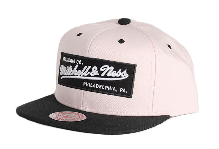 Mitchell & Ness Box Logo Snapback Shell / Black