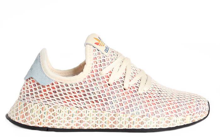 a0c64c1df Adidas Deerupt Pride Cream White   Ash Grey   Core Black ...