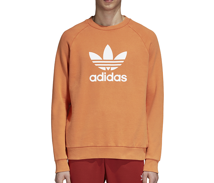 Adidas Originals Trefoil Warm-Up Sweatshirt Craft Orange