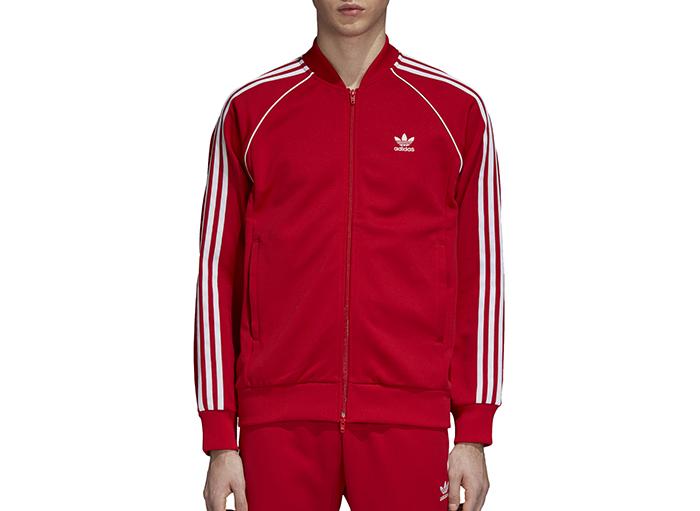 Adidas Originals SST Track Jacket Collegiate Red