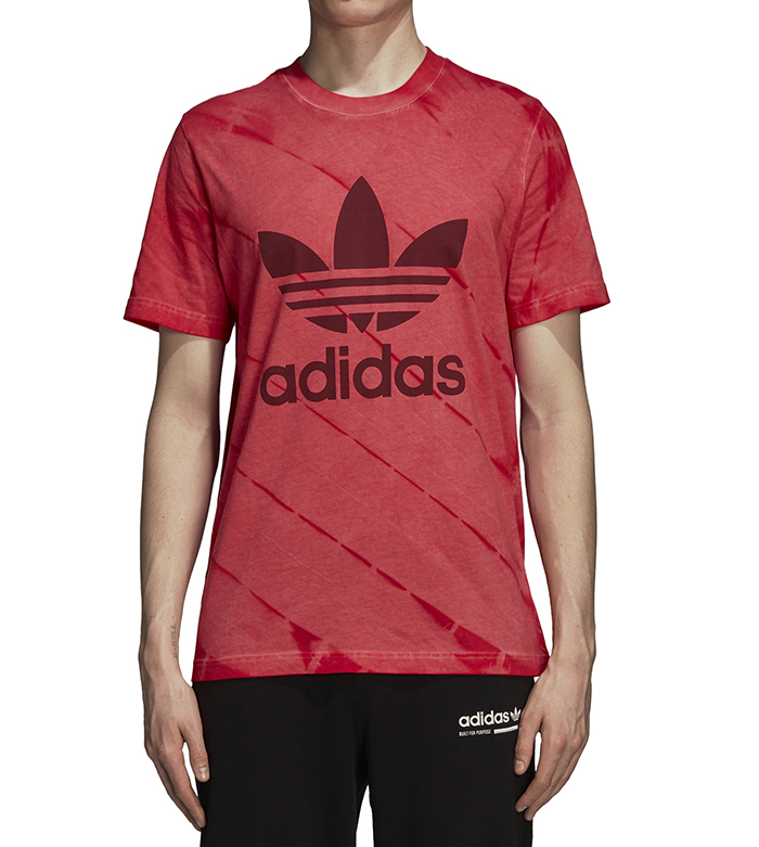 Adidas Originals Tie Dye Tee Red
