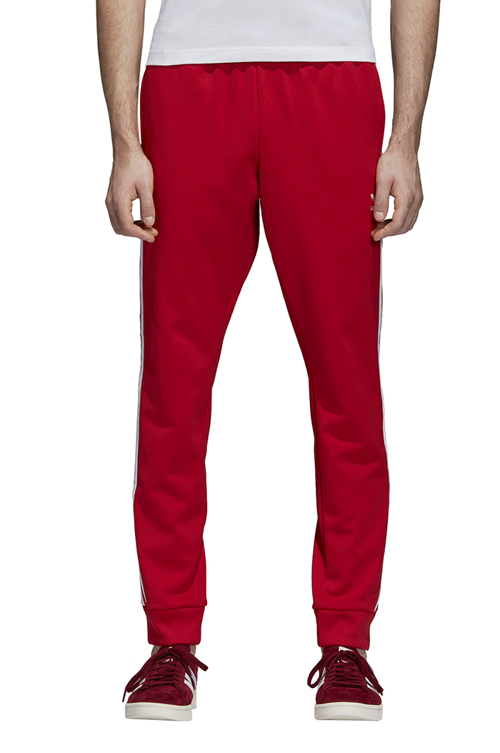 92cd10556 Adidas Originals SST Track Pants Collegiate Red - Boardvillage