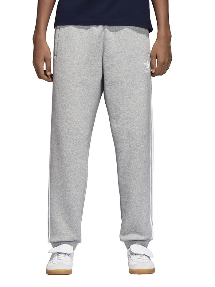 c08c44a41658 Adidas 3 Stripes Pants Medium Grey Heather - Boardvillage